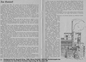 [B]...Bericht zum Gaswerk 1945-1950